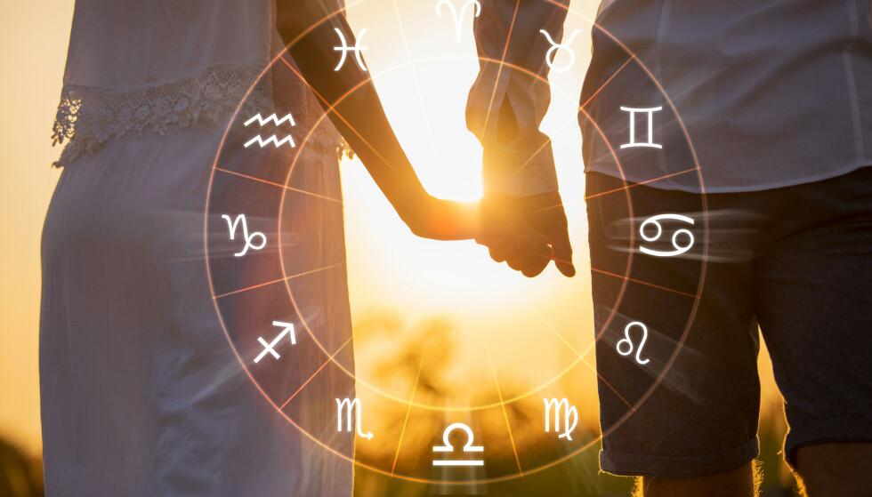 HOROSKOP: Vet du hvilket stjernetegn som passer best med ditt? Finn det ut her! Foto: NTB
