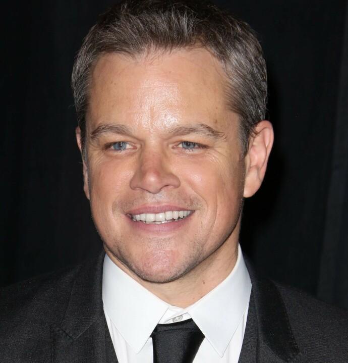 VÅR MANN? Matt Damon er kjent fra Jason Bourne-filmene, her fra 2016. FOTO: NTB