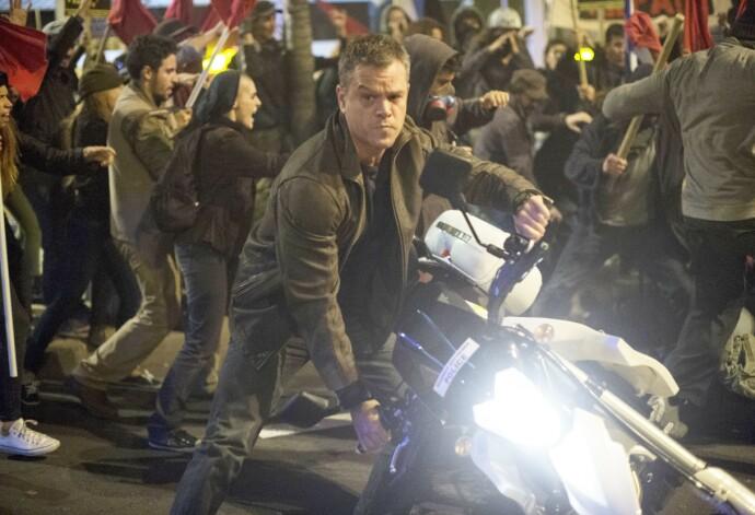 HARDT LIV: Matt Damon i rollen som Jason Bourne har stadig skurker hakk i hæl. FOTO: Universal/Kobal/REX/NTB