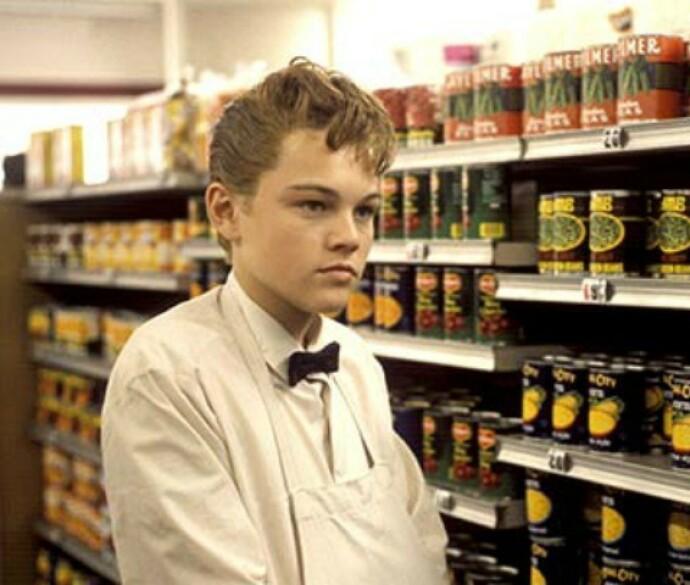 UNG STJERNE: Leonardo Di Caprio etablerte seg tidlig som en seriøs og hardtarbeidende skuespiller. FOTO: Splash News/NTB