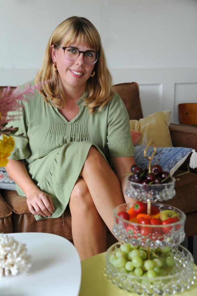 For Rebecca er det å kjøpe brukt mer en hobby enn en måte å spare penger. FOTO: Marianne Otterdahl-Jensen