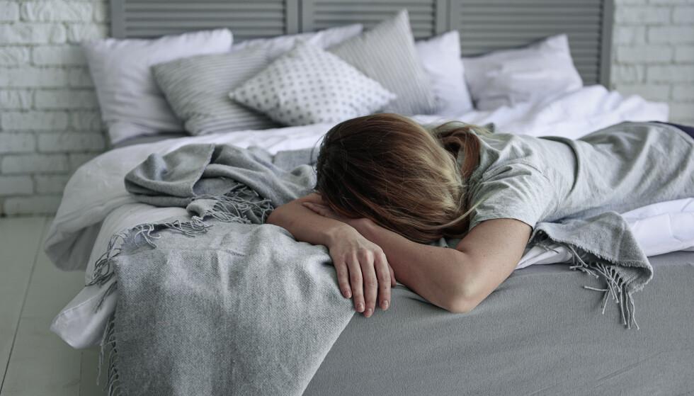 UTMATTENDE: Alle som har slitt med søvnvansker vet hvor vanskelig det kan være, og hvor mye det kan påvirke humør, arbeidslyst, energi og livsglede på dagtid.