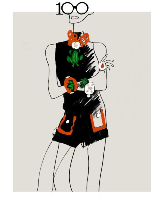 DETALJER: Smykker er en viktig del av kolleksjonen som kommer neste år. FOTO: H&M