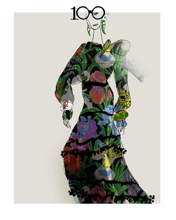 DYRISK: Inspirasjonen kommer blant annet fra dyre- og planteriket. FOTO: H&M