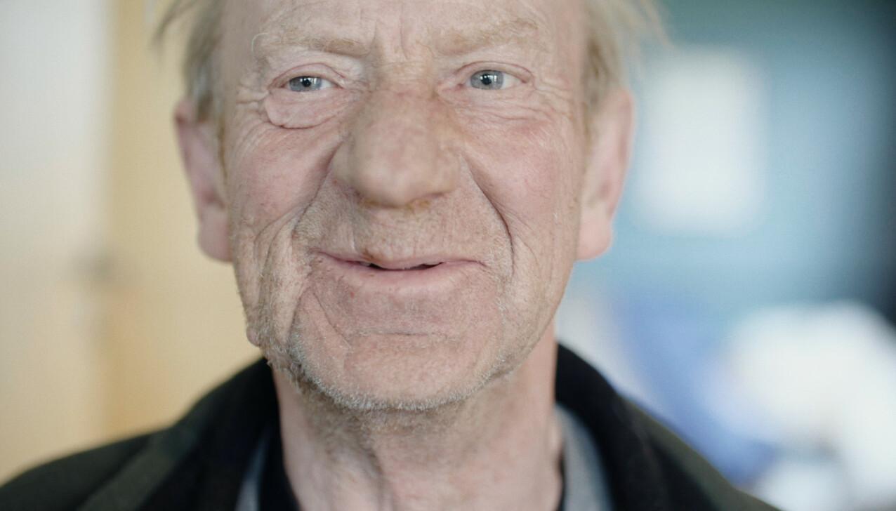 JAN: I filmen får vi et innblikk i Jan Ingvar Jørstads opp- og nedturer. FOTO: Ragnhild Nøst Bergem // Stills fra filmen Vær her