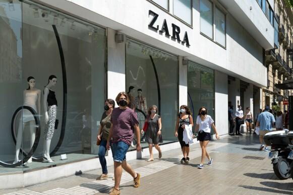 VERSTING: Det er ikke første gang Zara er blitt anklaget for å ha kopiert andres design. FOTO: NTB
