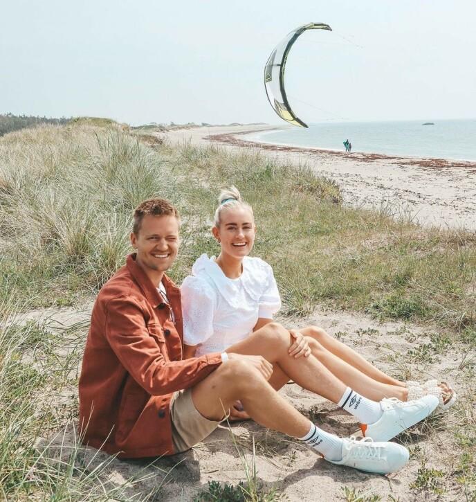 GODT SELSKAP: Sveinsdottir forteller at de er bestevenner og har det veldig, veldig gøy sammen. Foto: @andreasveinsdottir