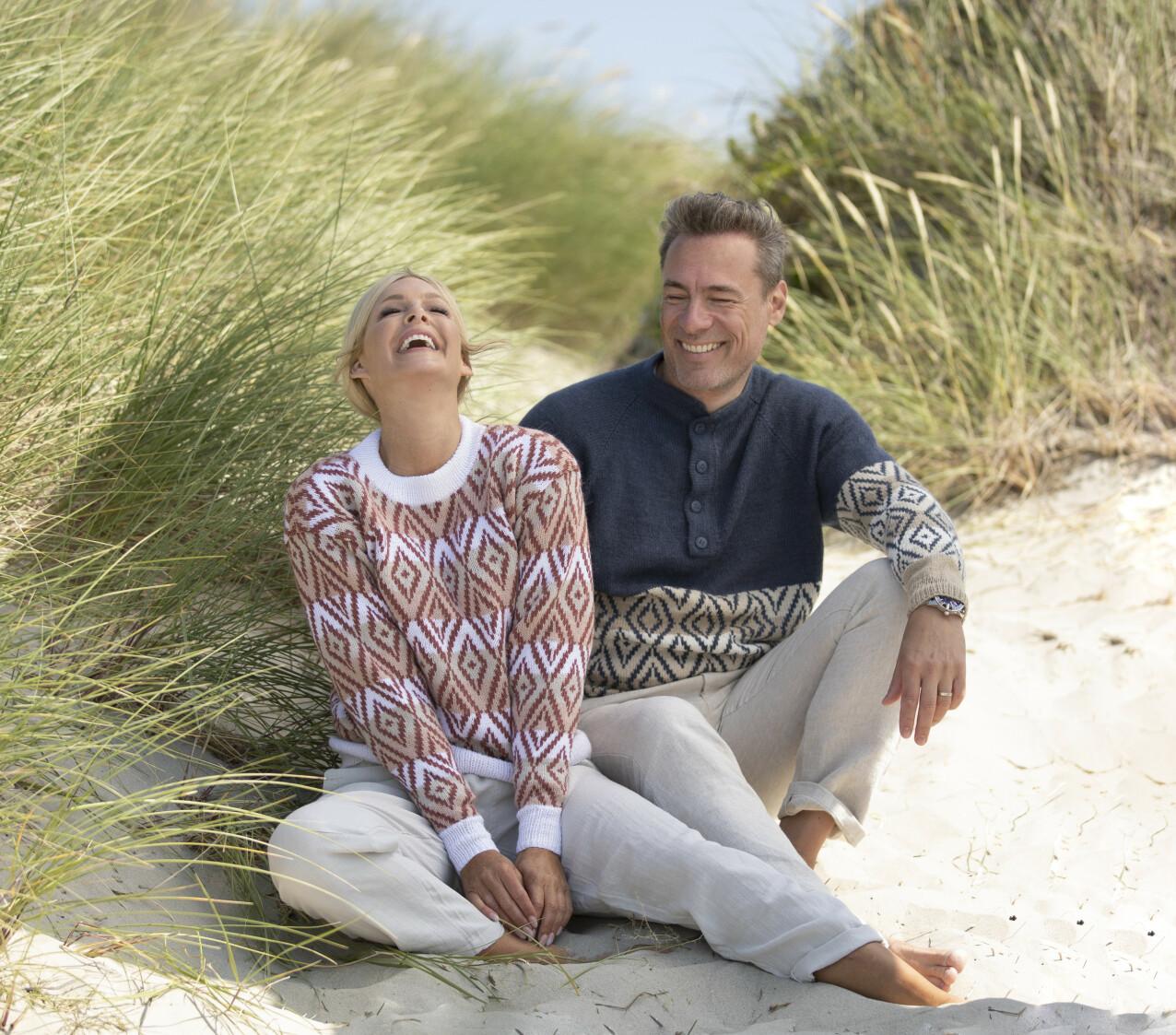 KJÆRLIGHET: Kathrine og Andreas sier til KK at de ikke er fremmede for å fornye ekteskapsløftene. Her på Solastranden i Stavanger. FOTO: Arild Hjelm / Studio Hjelm
