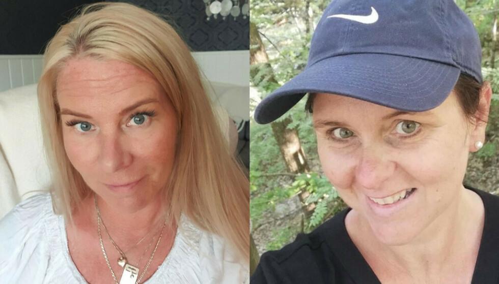 FIBROMYLAGI: Brita (til venstre) og Susanne (til høyre) er rammet av fibromyalgi. Foto: Privat