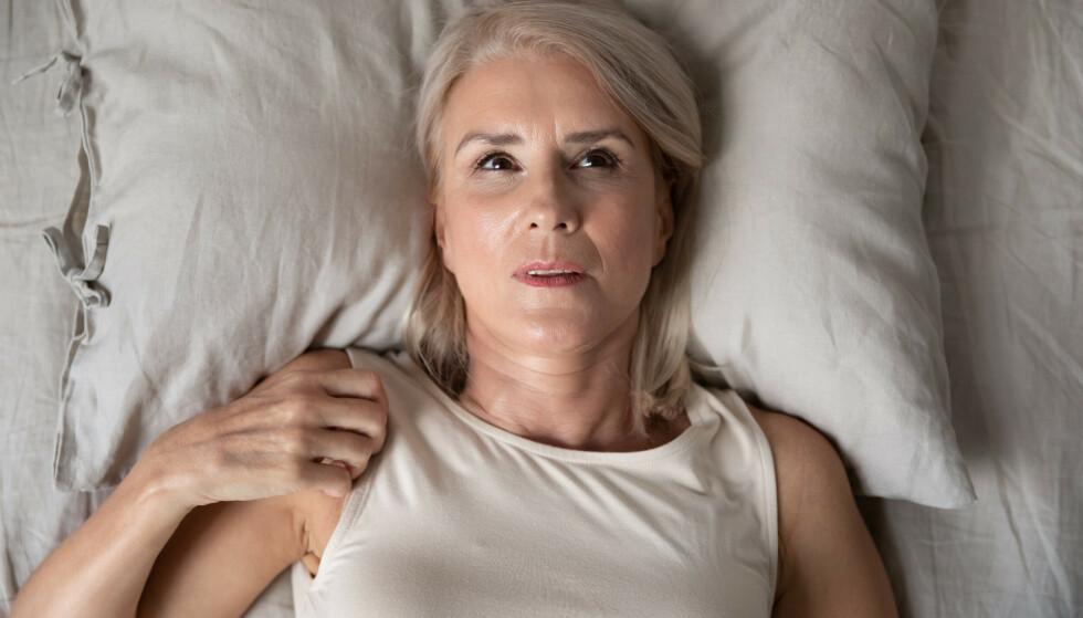 VERKENDE SMERTER OG DÅRLIG NATTESØVN: Klassiske fibromyalgisymptomer. FOTO: NTB