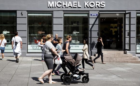 NEDLAGT: Michael Kors-butikken i Oslo er nå nedlagt. FOTO: NTB
