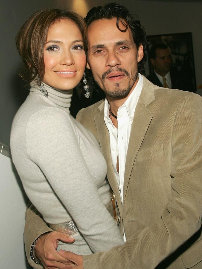 NY MANN: Jennifer Lopez og ektemannen Marc Anthony i september 2005. FOTO: NTB