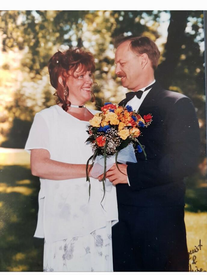 Endelig gift! FOTO: Privat