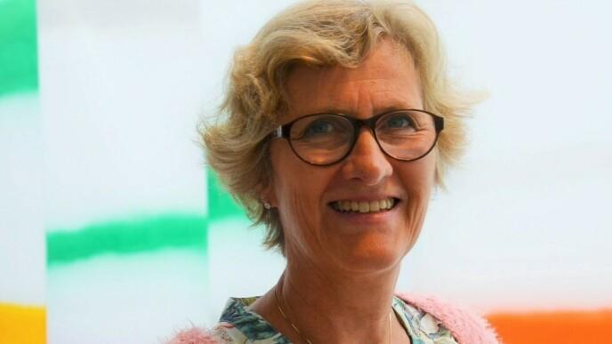 Beate Lie Sverre, førsteamanuensis ved Universitetet i Sørøst-Norge, har forsket på sosiale møteplasser og mener at initiativet Cecilie har satt i gang er et godt eksempel på det politikerne ønsker for å motvirke ensomhet. FOTO: Pressebilde