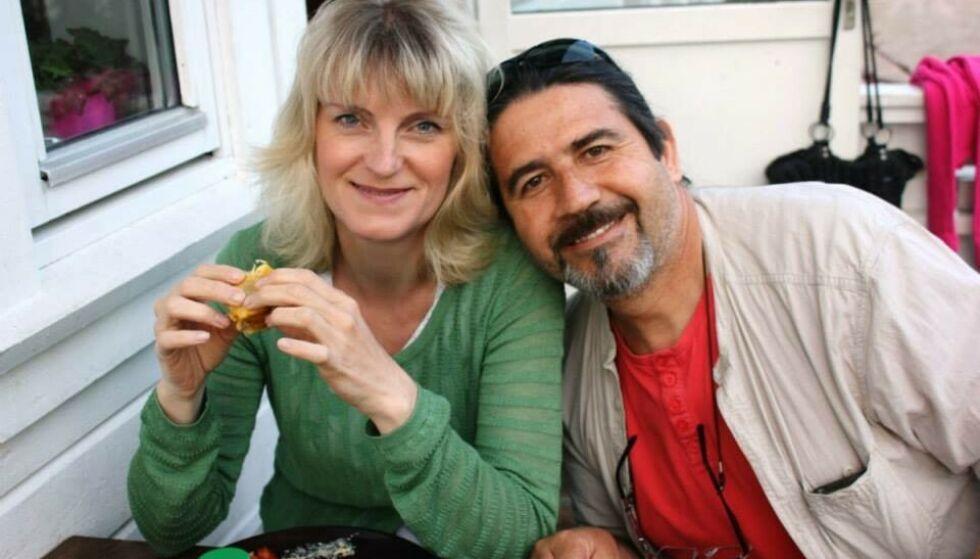 MISTET MANNEN: Cecilie og Patricio var sammen i 20 år, men under coronaen valgte han å ta sitt eget liv. FOTO: Privat
