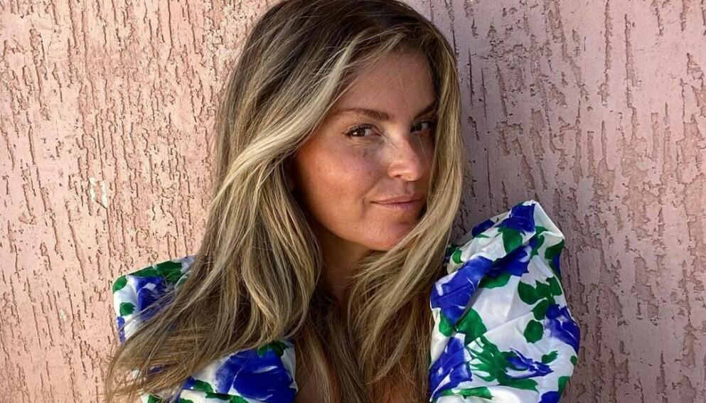 REAGERER: Influenser Janka Polliani reagerer på sjokktallene som viser at norske barn og unge ned til tiårsalderen redigerer bilder av seg selv før de poster på sosiale medier. FOTO: INSTAGRAM @POLLIANI