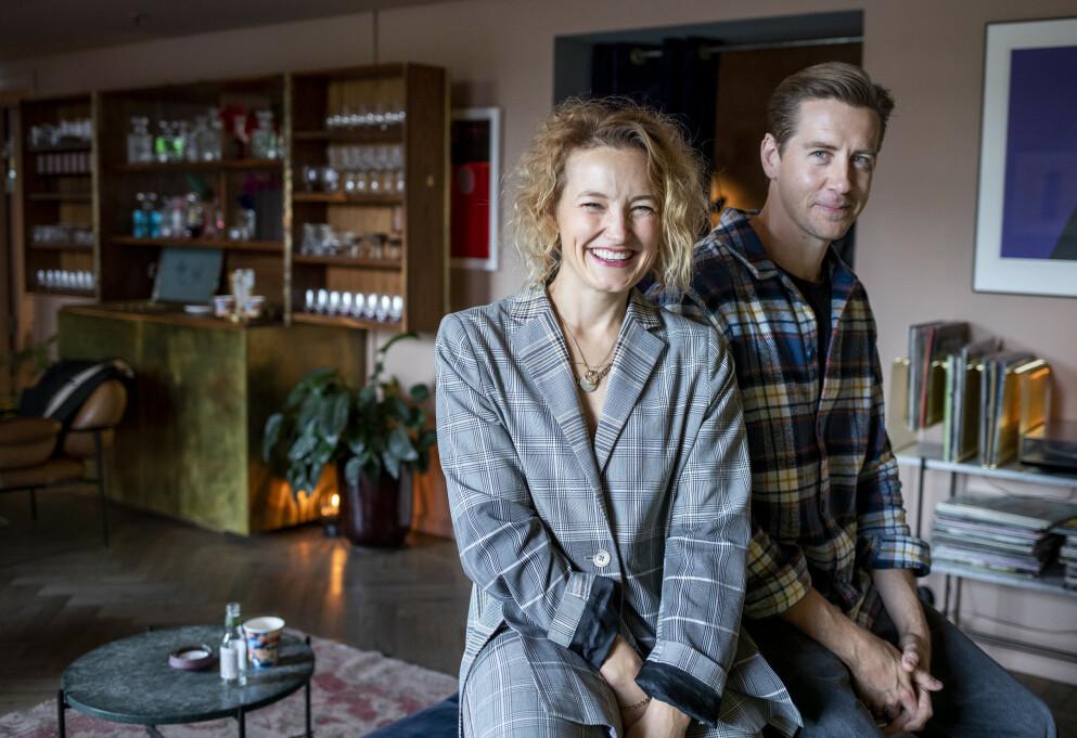 FURIA: Skuespillerne Ine Marie Wilmann og Pål Sverre Hagen spiller sammen for sjette gang. Denne høsten har thriller-serien «Furia» premiere på Viaplay. FOTO: Javad Parsa / NTB