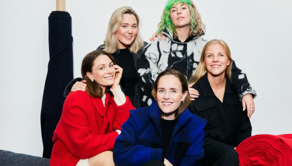 SAMARBEIDER: Sykollektivet Fæbrik samarbeider med den norske designeren Elisabeth Stray Pedersen og hennes ESP. FOTO: IDA FISKAA