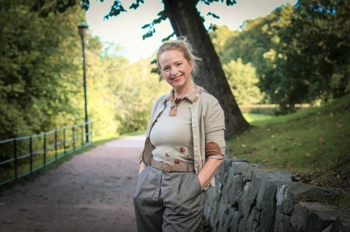 VANSKELIG SKOLEGANG: På skolen klarte Kristin seg bra sosialt, men skolearbeidet var ikke så lett. Foto: Ida Bergersen