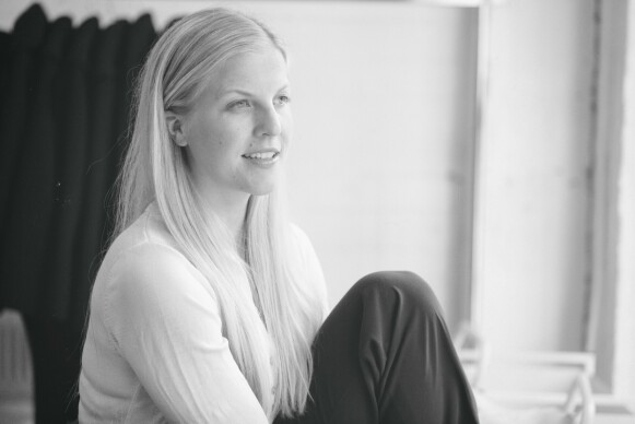 SLOW FASHION: Designer Elisabeth Stray Pedersen står bak motemerket ESP. FOTO: PRIVAT