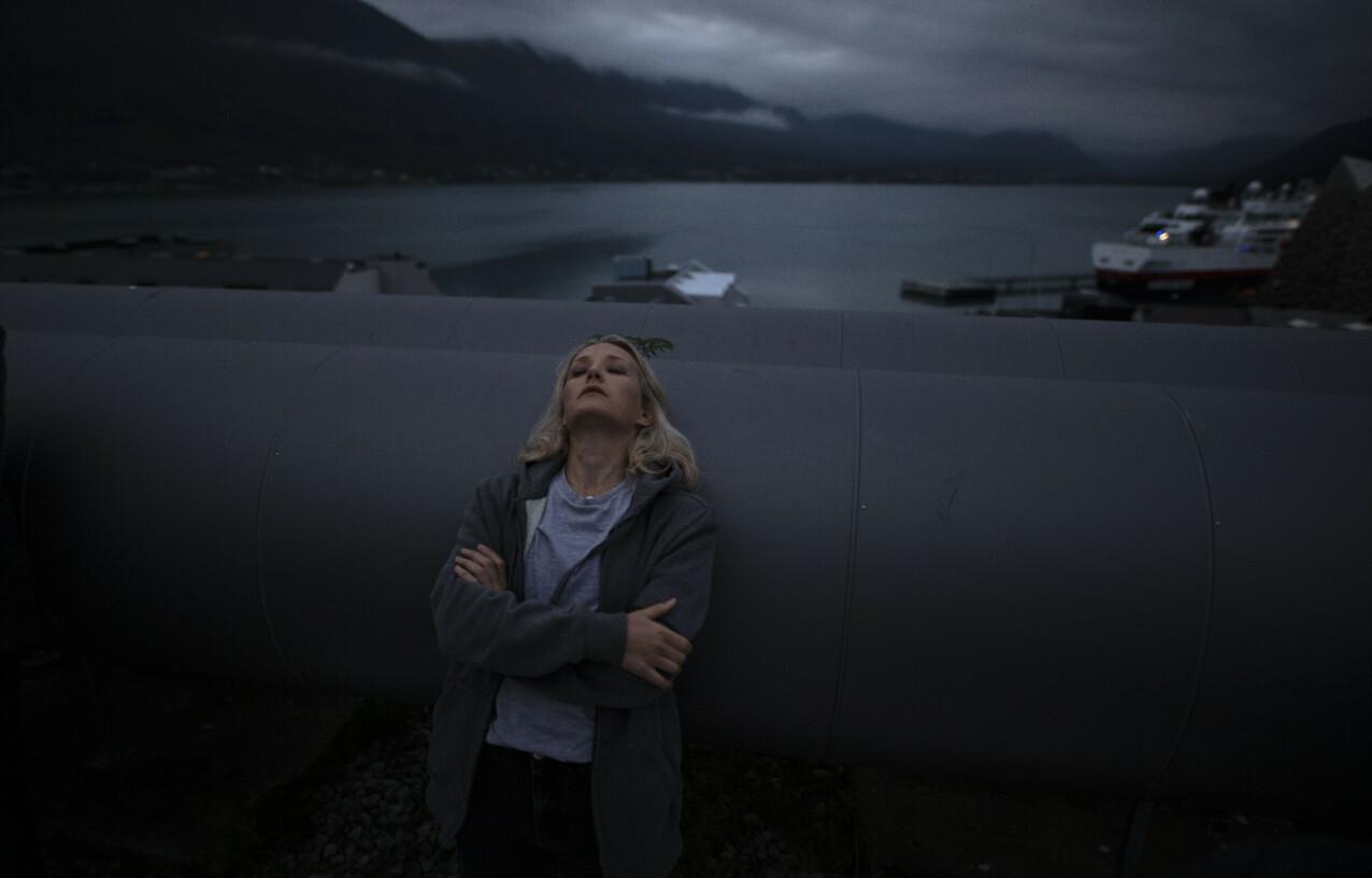 FURIA: Ine Marie Wilmann i rollen som Ragna i TV-serien Furia. FOTO: Matti Bernitz // Viaplay