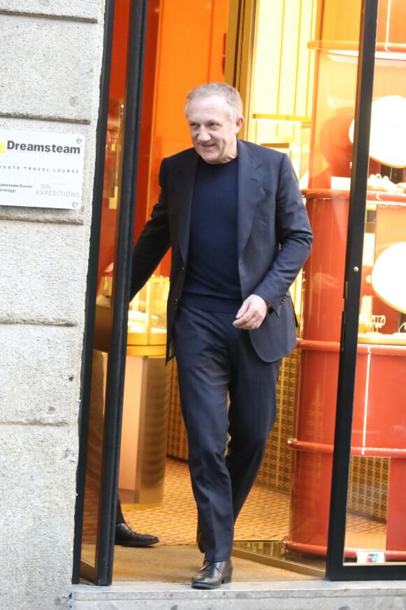 PELS-NEI: Kering-sjef François-Henri Pinault sier nei til pels. FOTO: NTB