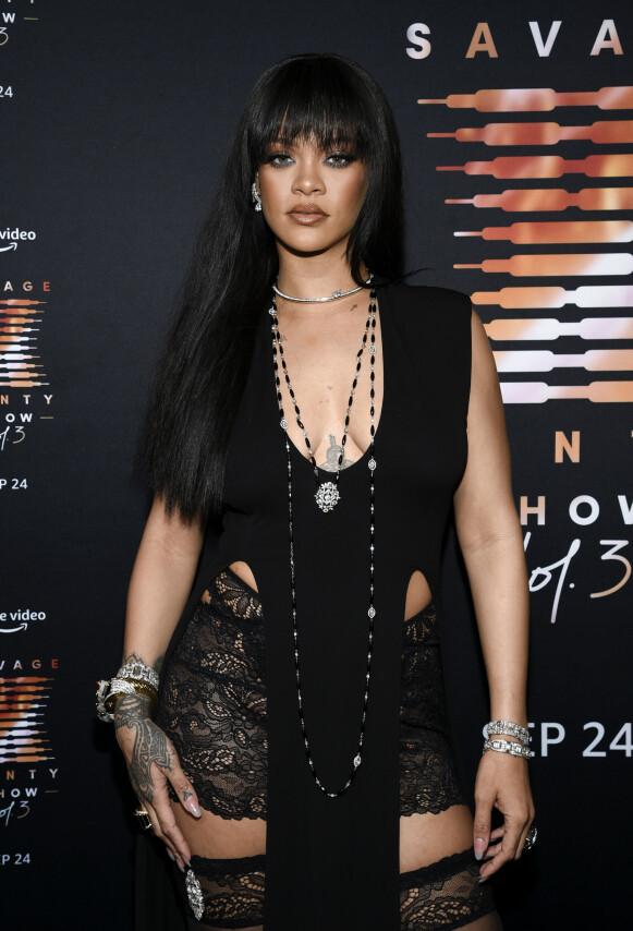 SUPERSTJERNE: Rihannas Fenty Beauty kom nylig til Norge. FOTO: NTB
