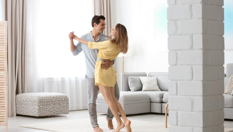 I BEGYNNELSEN: I starten av et forhold gjør de fleste en innsats for å fremstå så attraktiv som mulig.