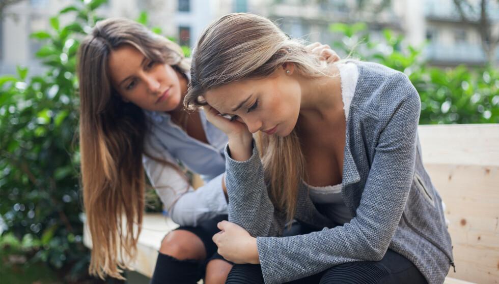 MANGE ÅRSAKER: At hun er avhengig av stoffer, er inkonsekvent og har dårlig personlig hygiene er noen av årsakene til at vi avslutter vennskap.