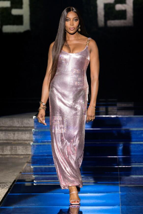 LEGENDE: Naomi Campbell har flere ganger tidligere gått for Versace. FOTO: NTB
