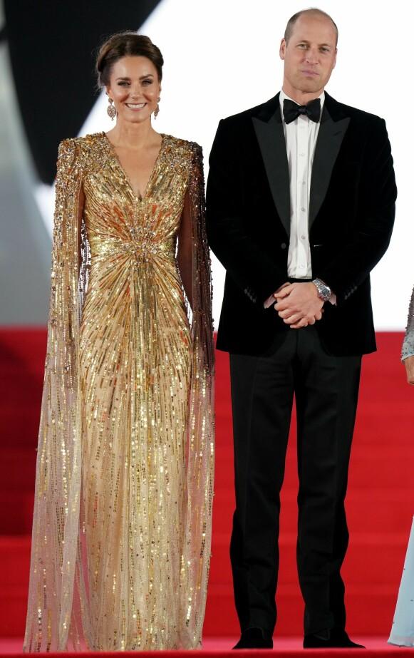 BOND-PIKE: Kate Middleton minner om en av Bond-pikene, mener kongereporter i Se & Hør, Caroline Vagle. FOTO: NTB