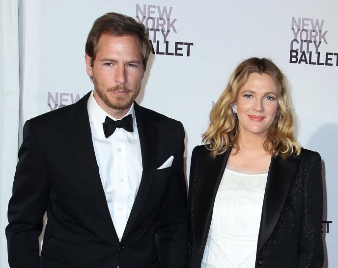 DEN GANG DA: Drew Barrymore og Will Kopelman giftet seg i 2012. De har to barn sammen. FOTO: NTB