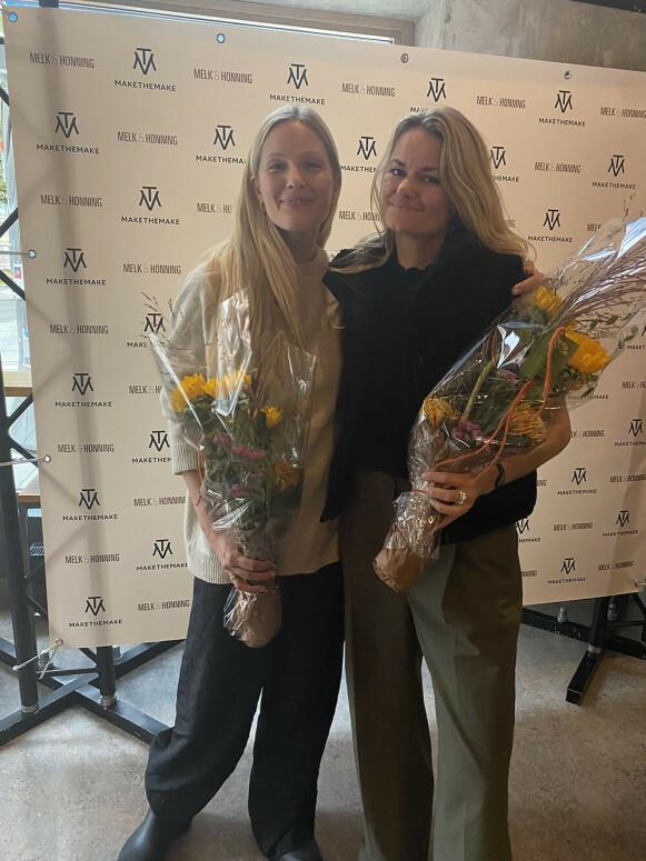 MOTE-NORGES MEKTIGSTE: Maria Skappel Holzweiler (t.v) og Susanne Holzweiler. FOTO: KK