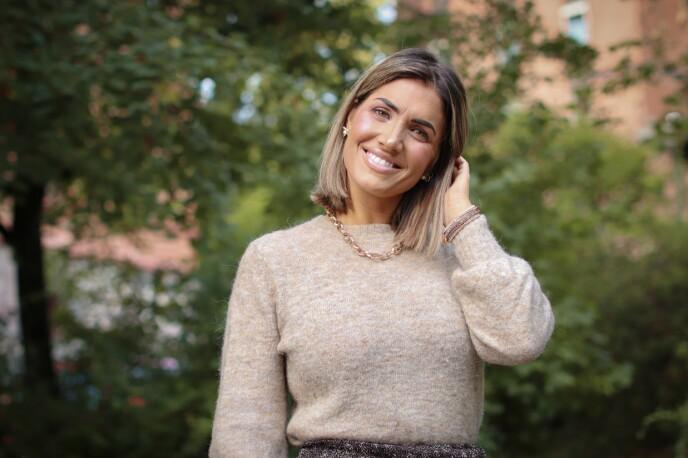 UTRADISJONELL: Iselin mener at åpenheten hennes kan være både en fordel og en ulempe, med tanke på klienter. Foto: Ida Bergersen
