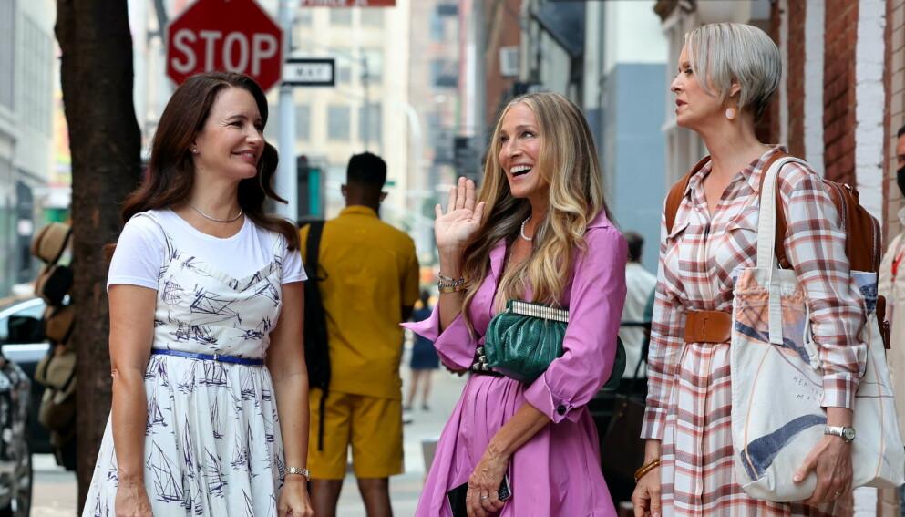 NYE BILDER: Innspillingen av oppfølgeren til «Sex and the City» er godt i gang. Nå er nye bilder her. FOTO: NTB