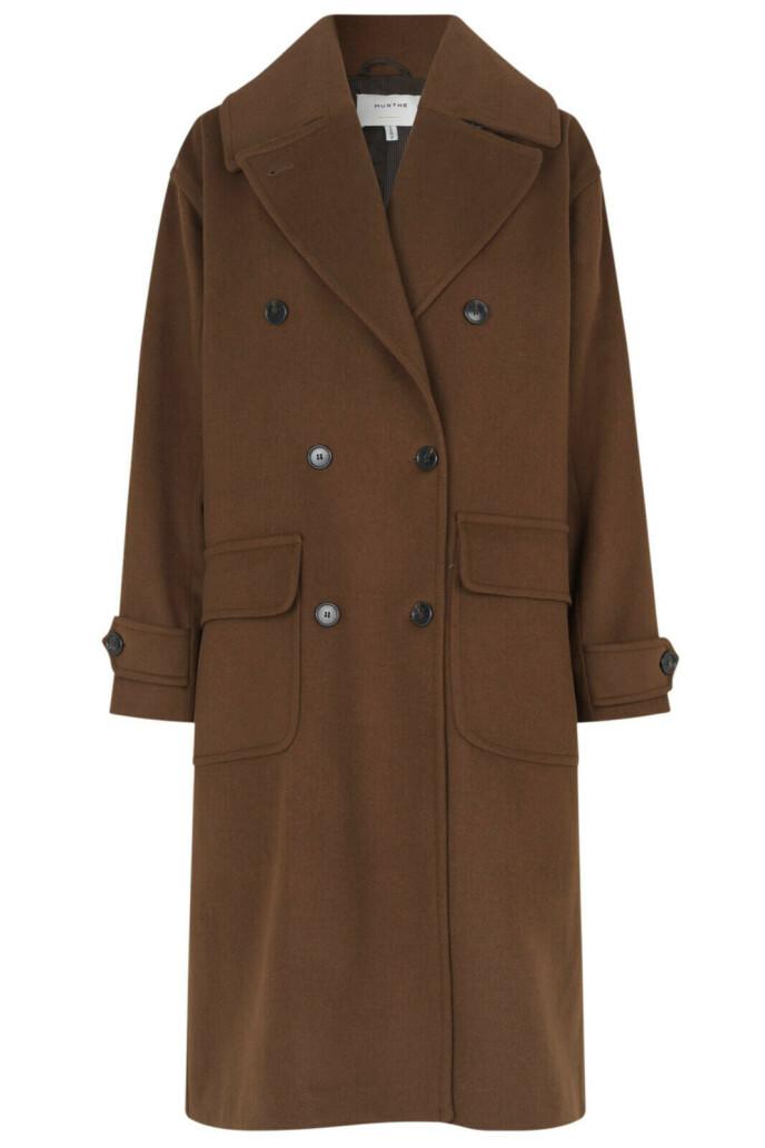 Den perfekte lange kåpen (kr 5600, Munthe).