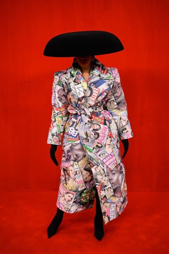 RAPPER: Cardi B er en selvskreven gjest på Balenciaga-visninger. FOTO: NTB