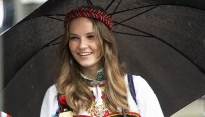 SLEKTSNAVN: Prinsesse Ingrid Alexandra har et navn med røtter på begge foreldrenes side. Foto: NTB