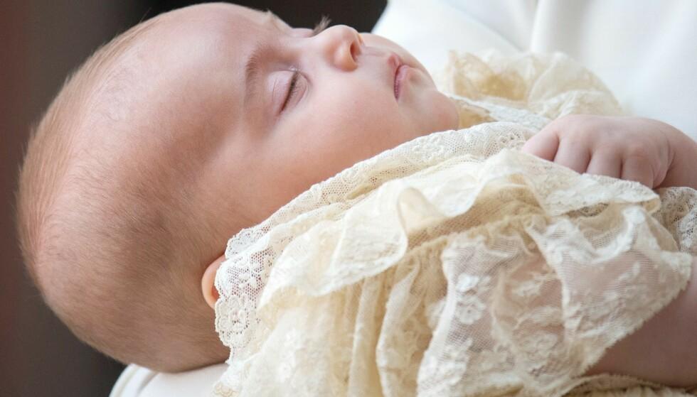 YNGST: Prins Louis Arthur Charles er William og Kates yngste barn. Foto: NTB