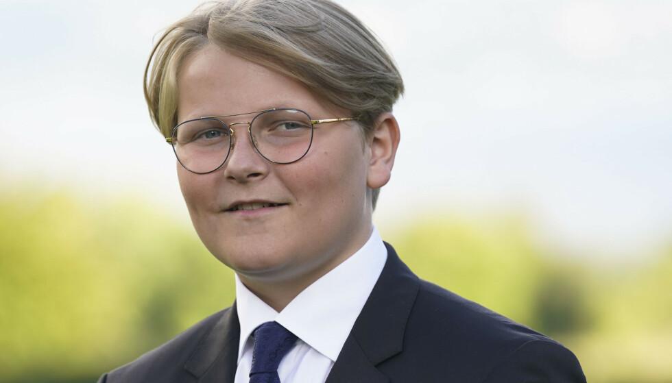 TO NAVN: Selv om prinsen heter Sverre Magnus, bruker han bare Magnus til vanlig. Foto: NTB