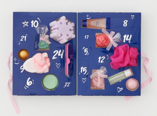 Bath & Body-kalender, H&M Beauty (kr 299, ukjent verdi)