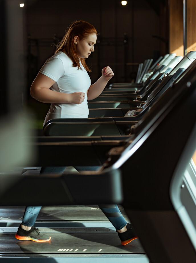 LØPING: Løping eller jogging er den treningsaktiviteten som gir absolutt best utslag på kalori- og fettforbrenning. FOTO: NTB