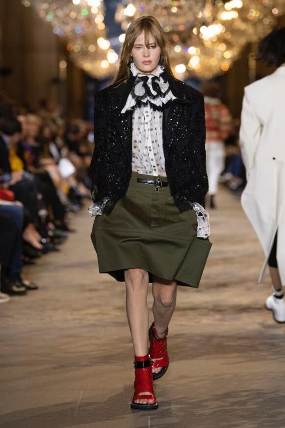 I PARIS: Kristine er såkalt worldwide exclusive for Louis Vuitton. FOTO: NTB