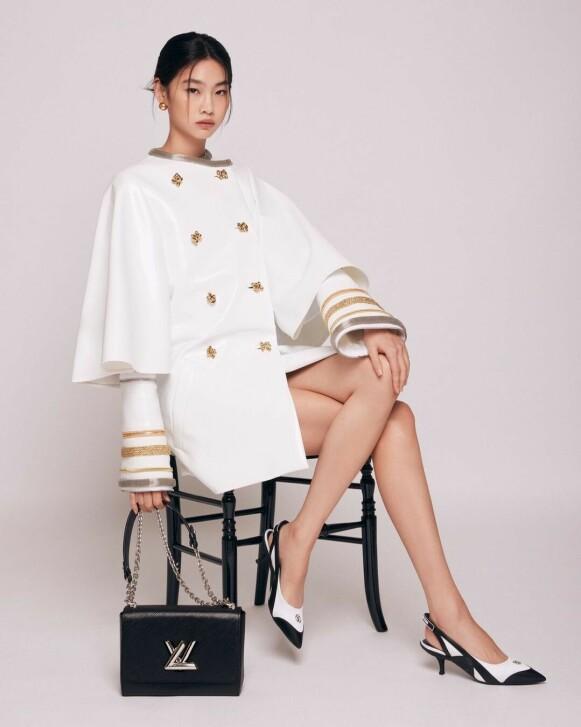 AMBASSADØR: Jung landet nemlig jobben som global ambassadør for det franske luksusmotehuset Louis Vuitton. FOTO: NTB